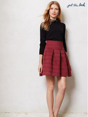 Anthropologie-Ponte-Bell-Skirt