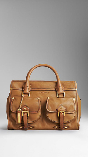 Burberry Medium Pocket Bowling Bag
