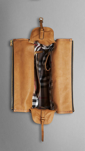 Burberry Medium Pocket Detail Bowling Bag