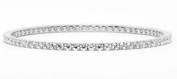 Nadri All Around Cubic Zirconia Bangle