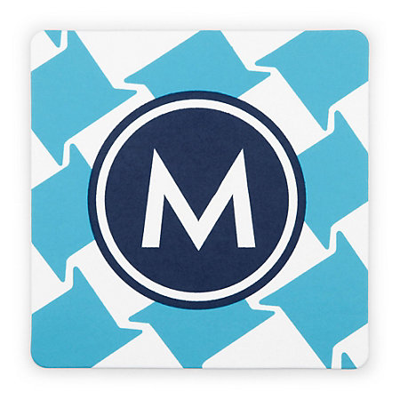 C. Wonder Monogram Coasters