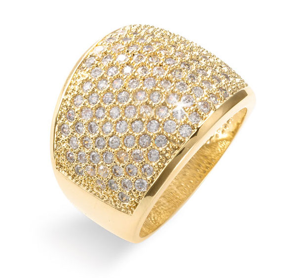 Ariella Pave Ring