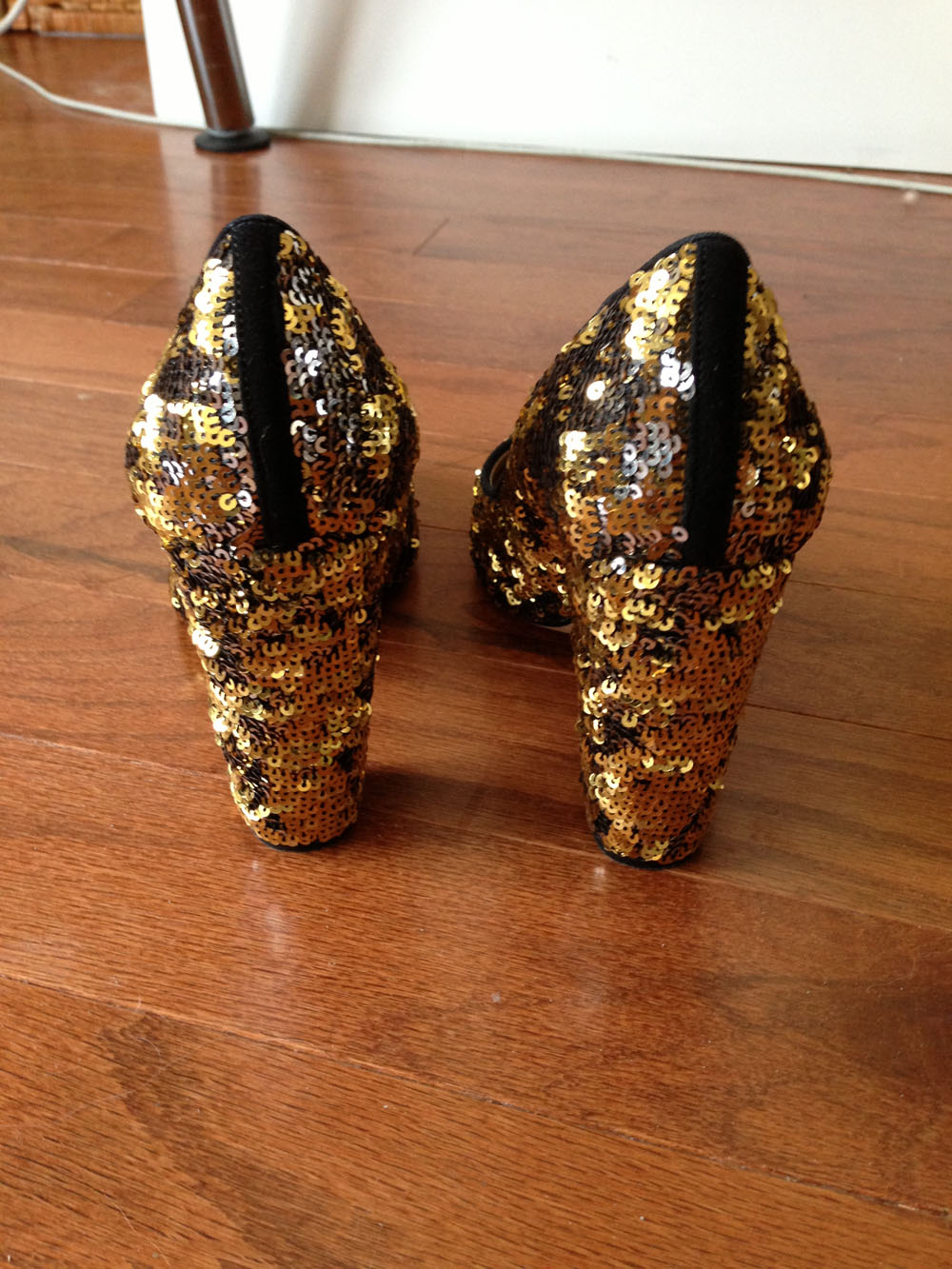 J.Crew Sequin Etta Pumps