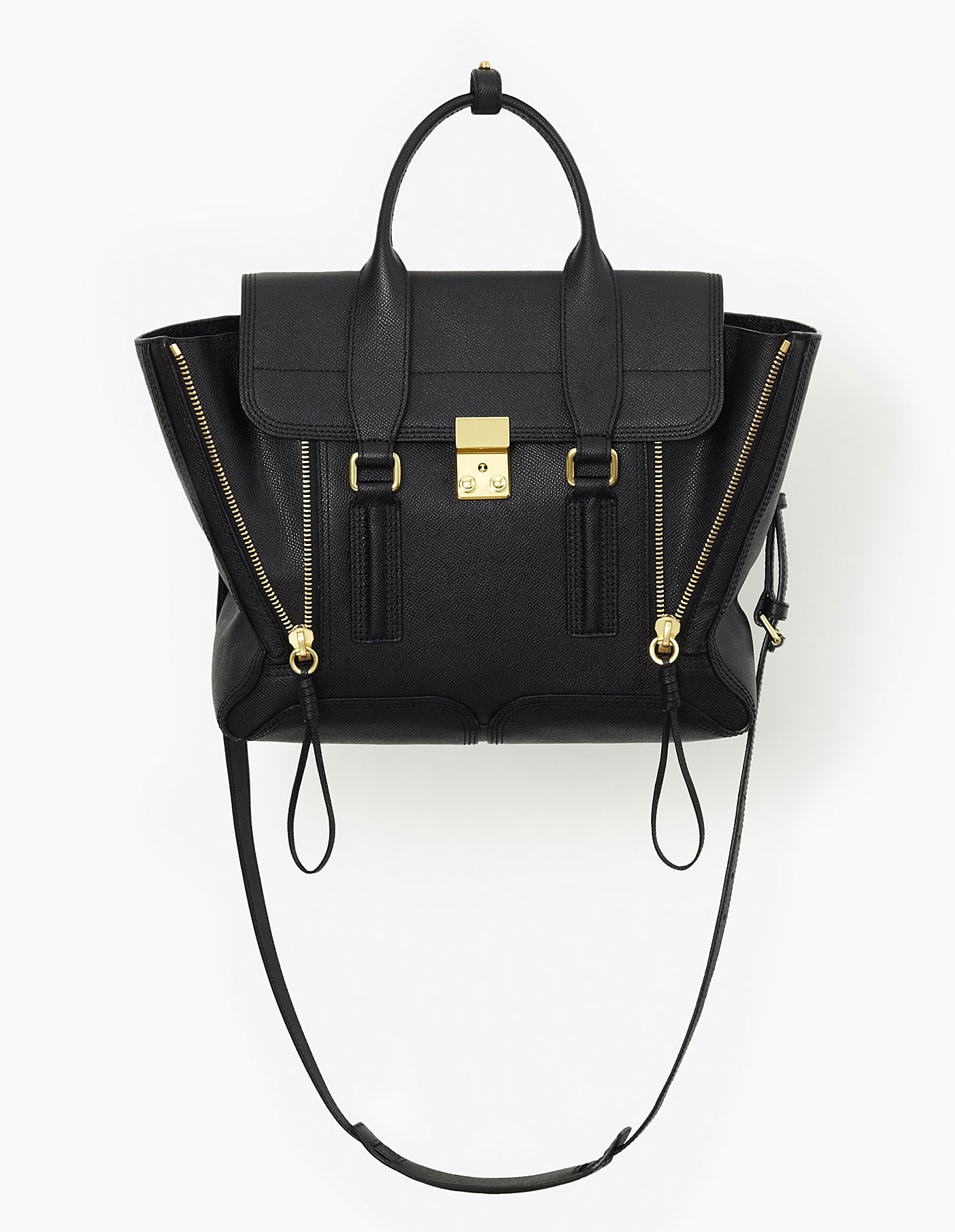 3.1 Phillip Lim Pashli Satchel Bag Black