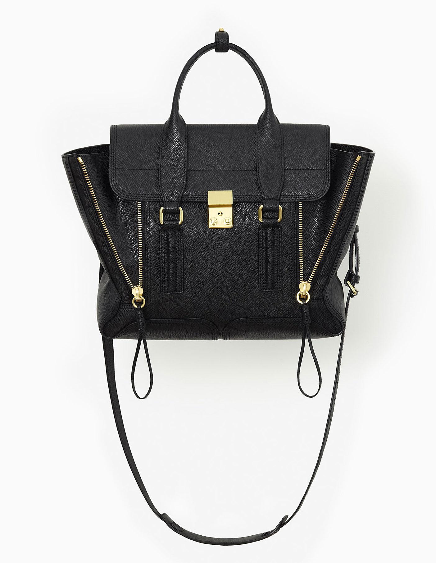 3.1 Phillip Lim Pashli Satchel Bag Black