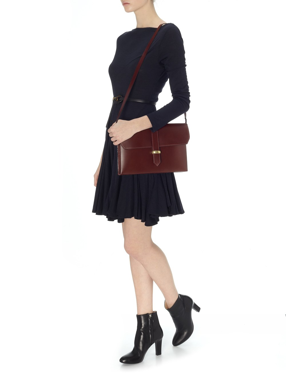 Lizzy Disney Loop Bag in Oxblood Burgundy