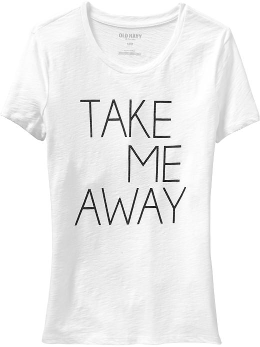 Old Navy Take Me Away Vacation-Graphic Tee