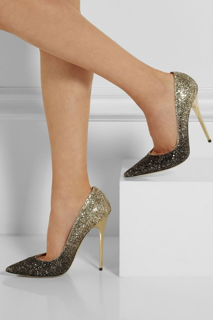 1b28137e22e Jimmy Choo Degrade Glitter Abel Pumps