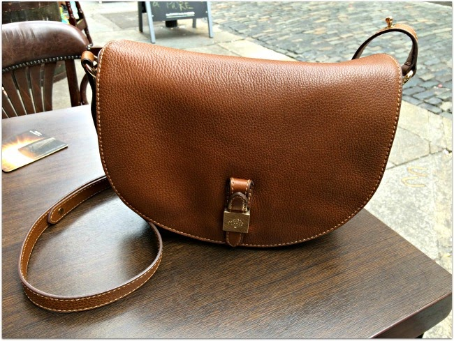 Mulberry Tessie Oak Satchel