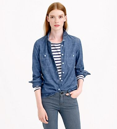 JCrew Selvedge Chambray Shirt