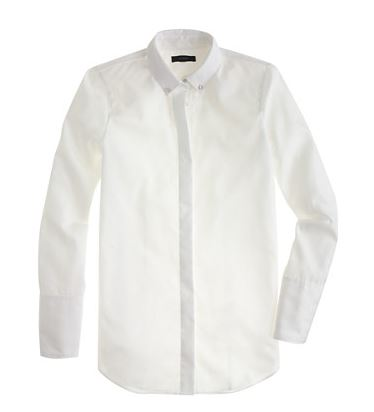 Jcrew pique collar shirt