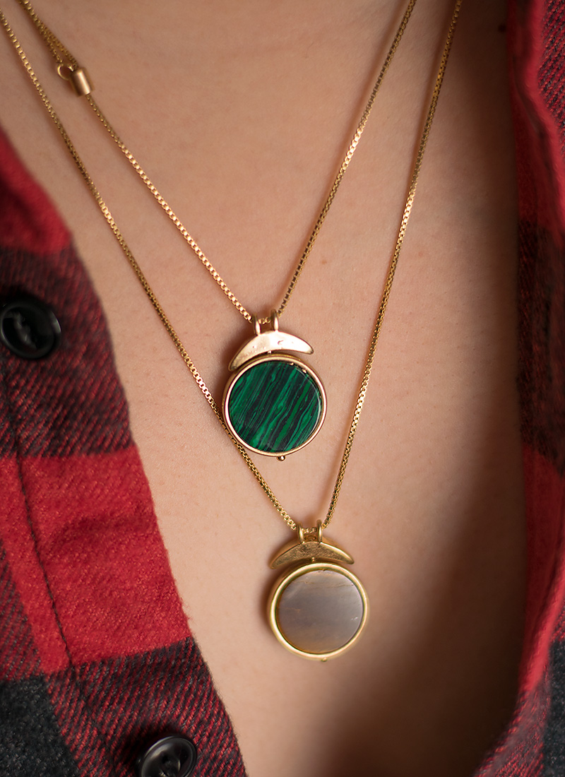 Madewell Pivot Pendant Necklace