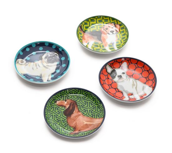 C. Wonder Puppy Porcelain Coasters