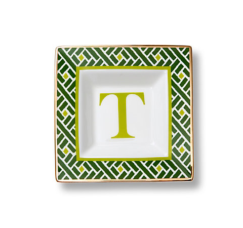 C. Wonder Monogram Square Dish