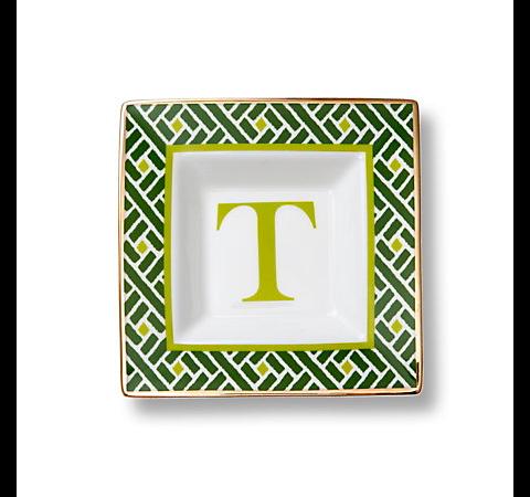 C. Wonder Monogram Square Dish