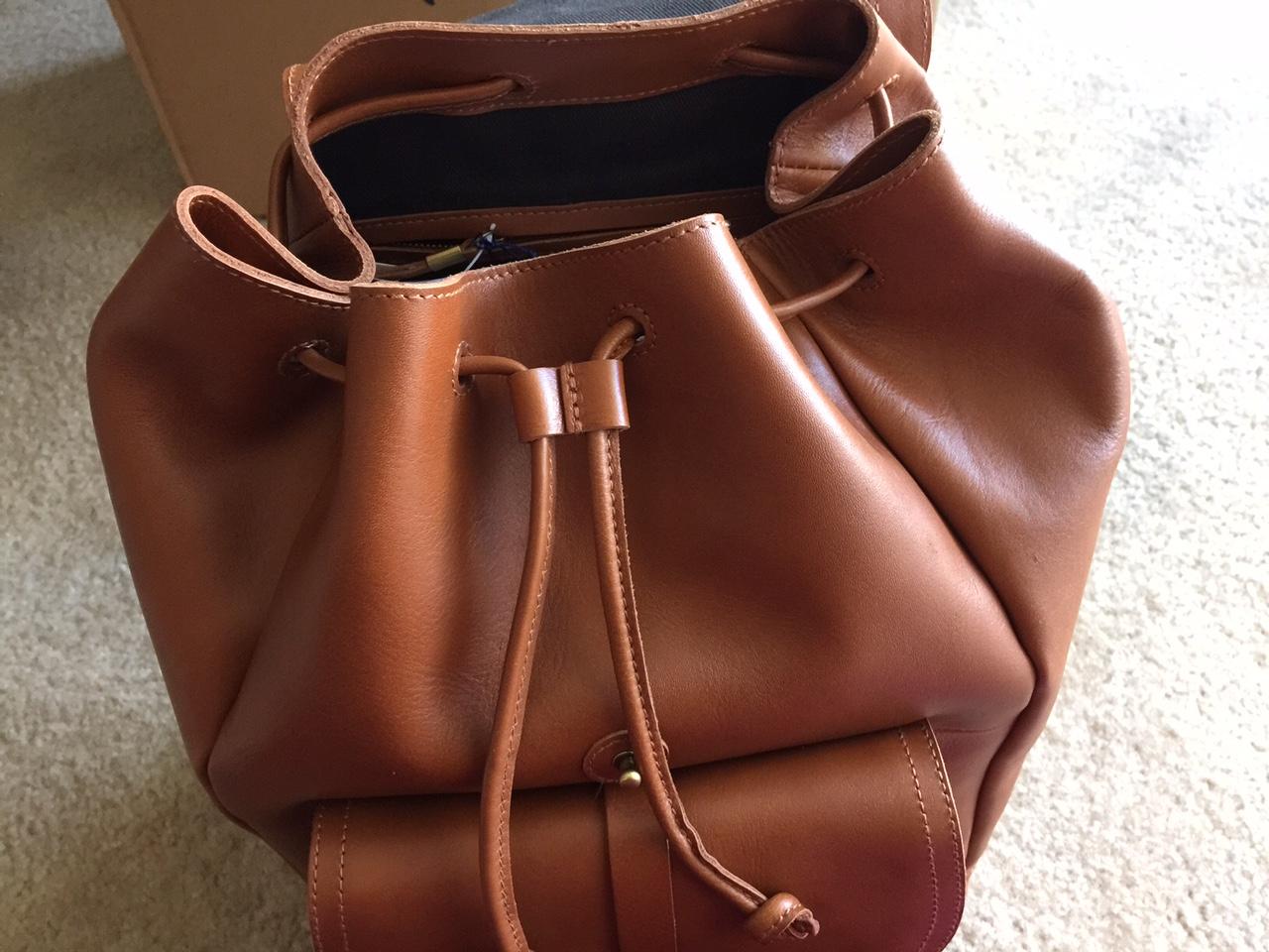Madewell Transport Rucksack Backpack